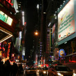 New york city - broadway straat — Stockfoto