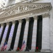 Stock Exchange in New YOrk, Wallstreet, USA — Stock Photo #16338735