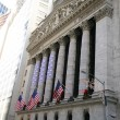 Stock Exchange in New YOrk, Wallstreet, USA — Stock Photo