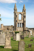 St Andrews cathedral grounds, Scotland, UK — Stockfoto
