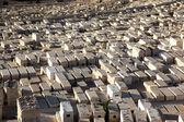 Gräber auf dem ölberg in jerusalem, israel — Stockfoto