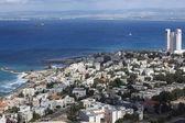 City view Haifa, Israel — Stock Photo