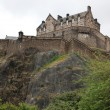 Edinburgh Castle, Scotland, UK - Stock Photo