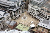 London with Paternoster Square from St Paul's Cathedral, UK — Stock Photo