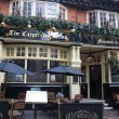 The carpenters arms Restaurant in London  — Stock Photo