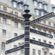 London Street Signpost — Stock Photo
