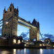 Stock Photo: Evening Tower Bridge, London, UK