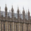 Houses of Parliament, Westminster Palace, London gothic architecture — Stock Photo