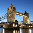 Evening Tower Bridge, London, UK — Stock Photo #17694643