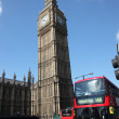 Big Ben and Houses of Parliament - Foto de Stock