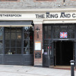 The King & Castle pub - Stock Photo