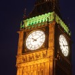 Big ben in the night time — Stock Photo