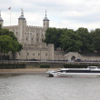 Tower of London on the Thames river — Stock Photo #17695739
