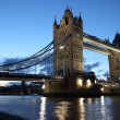 Evening Tower Bridge, London, UK — Stock Photo #17695791