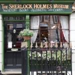 Sherlok Holmes Museum in Baker street — Stock Photo