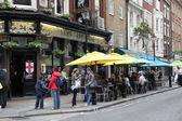 LONDON Exterior of pub — Stock Photo