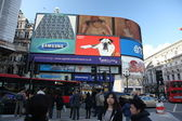 LONDON, ENGLAND Famous Piccadilly Circus — Stock Photo