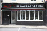 Ronnie Shaw's Great British Fish And Chips Restaurant — Stock Photo