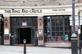 The King & Castle pub — Stock Photo