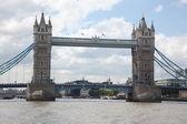 тауэрский мост в лондоне, великобритания — Стоковое фото
