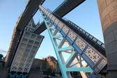 Span open Tower Bridge, London — Stock Photo