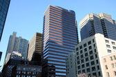 New York -skyscrapers in Manhattan — Stock Photo
