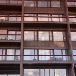Hotel windows, Oslo, Norway — Stock Photo