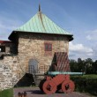 Akershus fortress in Oslo, Norway - Stock Photo