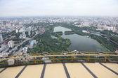 вид на город, пекин, китай — Стоковое фото