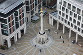The Monument to commemorate the Great Fire of London in 1666 — Stock Photo