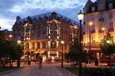 Beautiful night in Oslo, Norway — Stock Photo