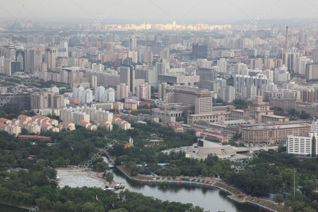 Paysage urbain de la ville de p kin chine photographie for Paysage de ville