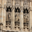 Houses of Parliament, Westminster Palace, London gothic architecture — Foto Stock