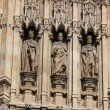 Houses of Parliament, Westminster Palace, London gothic architecture — ストック写真