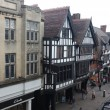 Stock Photo: Tudor styly buildings in Chester, UK