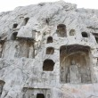 Man-carved grottoes in Luoyang, China — Stock Photo #19056961