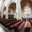 Interiors of the Bath Cathedral in England — Lizenzfreies Foto