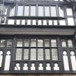 Tudor style buildings in Chester UK - Stock Photo