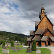 Heddal stave church, Norway — Stock Photo