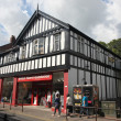 Tudor style buildings in Chester UK — Stock Photo