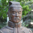 Terracotta Soldier, high ranking officer - Stok fotoğraf
