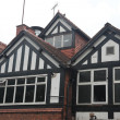 Stock Photo: Tudor style buildings in Chester UK