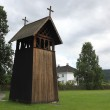 Old Wooden Chapel near Stave Church (Heddal stavkirke) in Heddal, Norway — Stock Photo #19059427