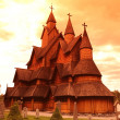Stock Photo: Heddal Stave Church