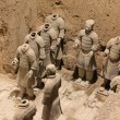 Terracotta Warriors in Xian, China - Stock fotografie