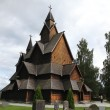 Stock Photo: Heddal Stave Church in Norway