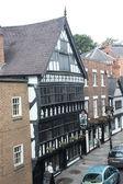 Straßen von chester, uk — Stockfoto