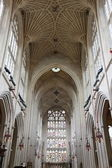 Ceiling of the Bath Cathedral, England — Stock Photo