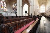 Interiores de uma catedral de bath, inglaterra — Foto Stock