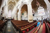 Interiors of the Bath Cathedral in England — Stock Photo